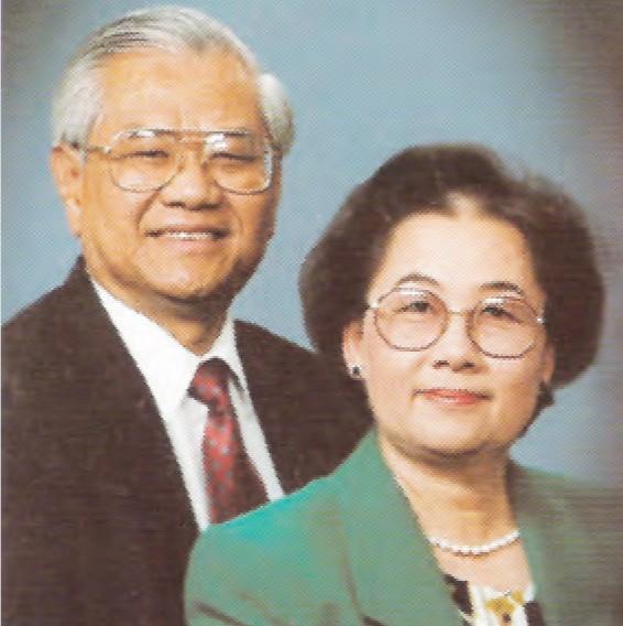 Ông Bà Mục sư Nguyễn Bá Quang