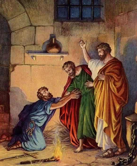 Phi-e-rơ và Giăng chữa lành người què tại cửa đẹp