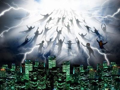 Thân thể được biến hóa để gặp Chúa trên không trung