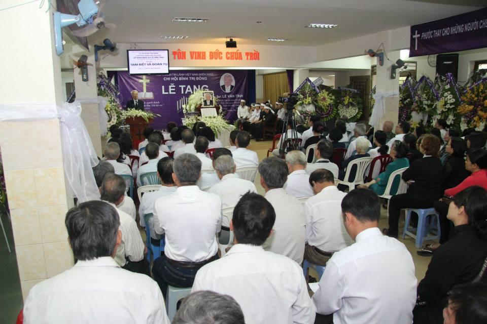 Bài giảng của Mục sư Trí sự Ngô Văn Bửu trong lễ tang cố Mục sư Lê Văn Tính
