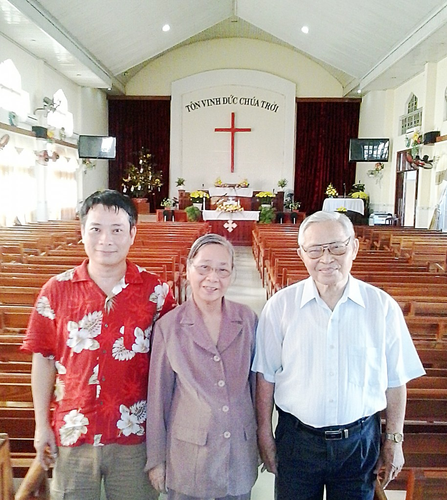 Gia đình Mục sư Trí sự Lê Đình Ân