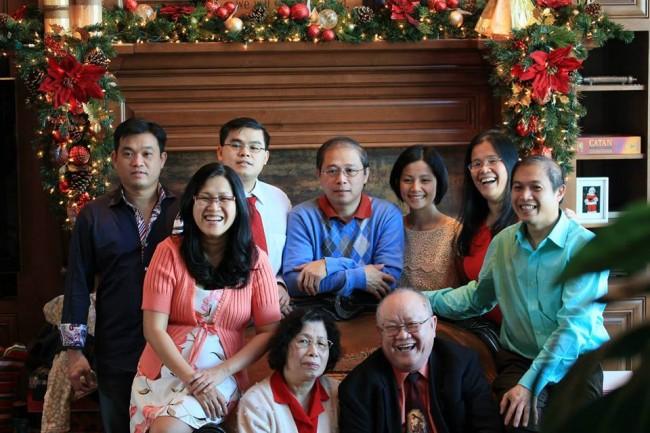 Gia đình Mục sư Lê Tự Cam