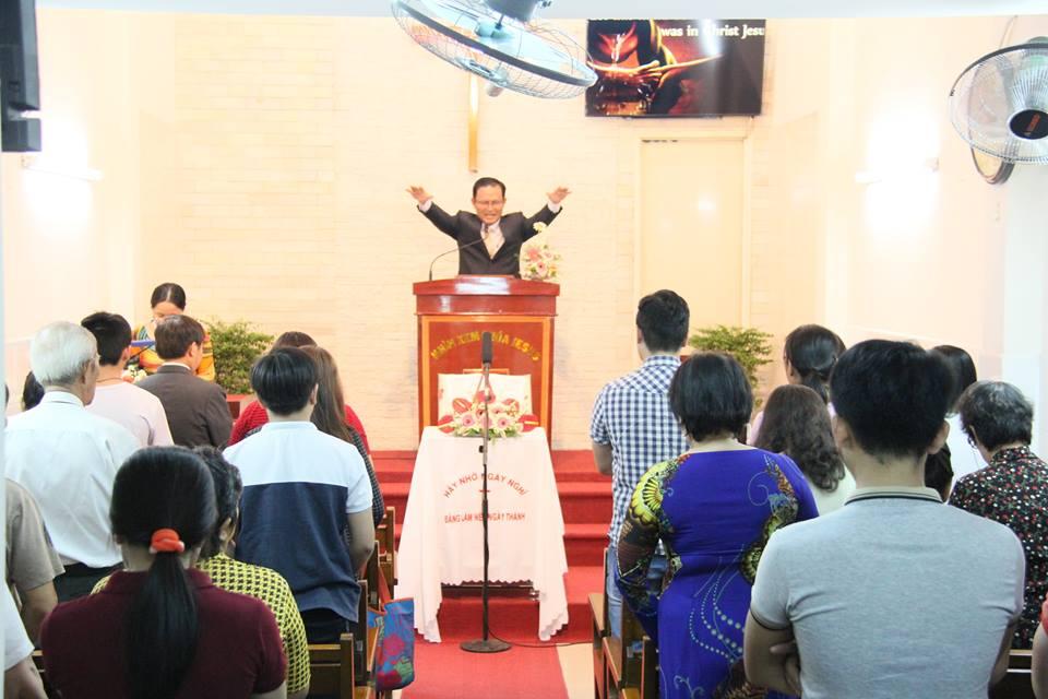MSNC QN Trần Huỳnh Quốc Việt chúc phước - Lễ 2 - Tâm tình phục vụ