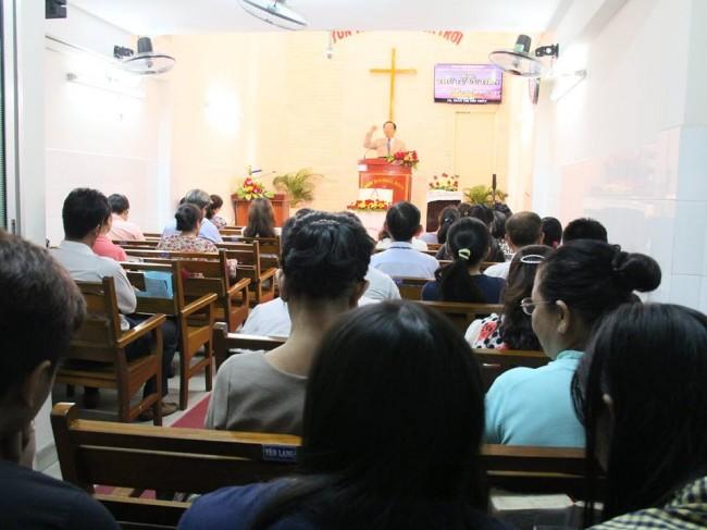 MSNC Trần Huỳnh Quốc Việt chúc phước